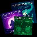 Марки с обложками книг о Гарри Поттере