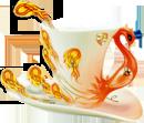 Кружка-феникс