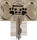 Запирающий питомца ключ