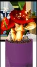 Волшебные грибы с игрушками
