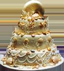 Торт «Золото морей»