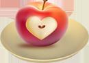 Яблоко на любовь