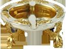 Миска золотая