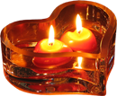 Уютная свеча