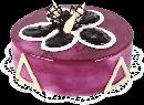 Творожно-черничный торт