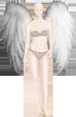 Небесный фламинго. Белые