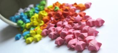 Начинающий мастер оригами